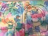 Paul Klee self portraits with kindergarten