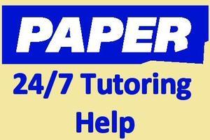 Paper.co 24/7 Tutoring Help
