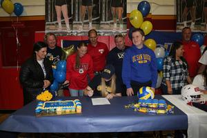 HHS Athlete Signing Day