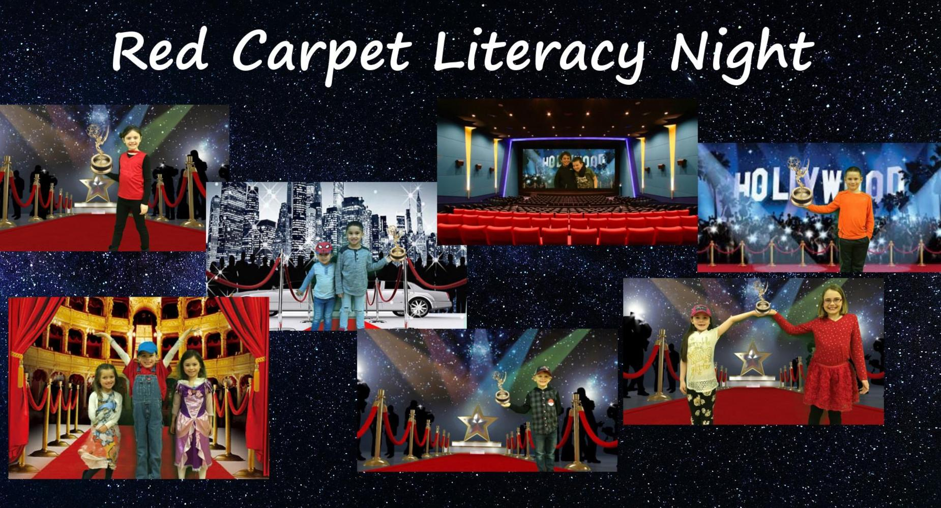 Red Carpet Literacy Night