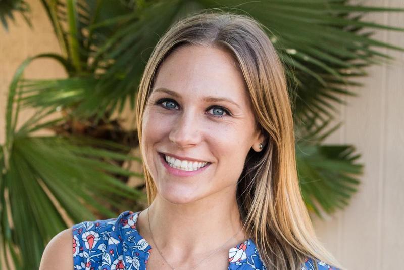 Franklin Elementary School fifth-grade teacher Katie Furden