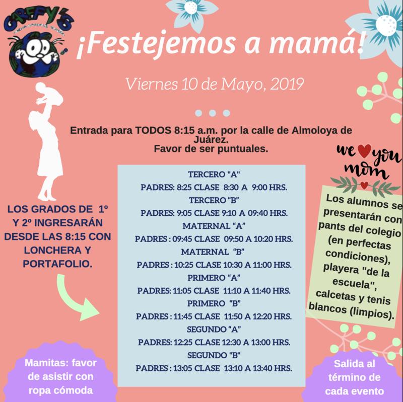 Invitación día de las madres J.N. Featured Photo