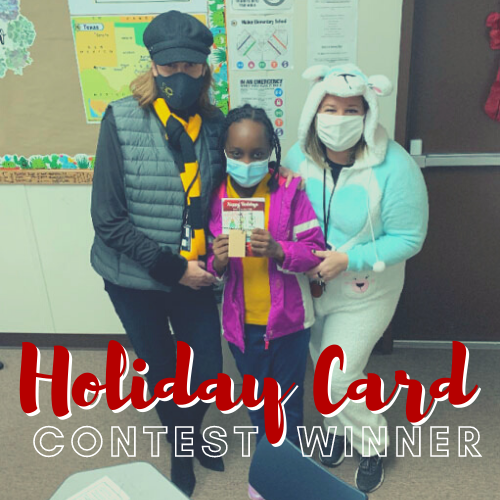 Walker fourth-grader wins CISD Holiday Card Contest Featured Photo