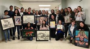 photo of scholastic winners