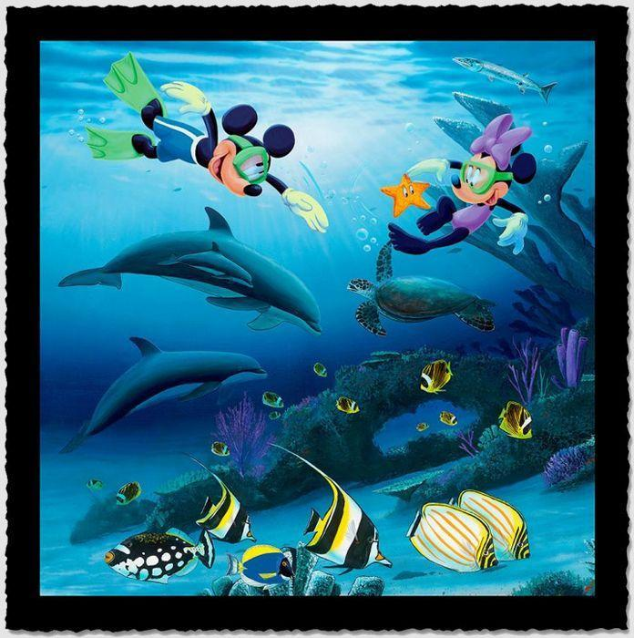Dolphins & Disney.  :)