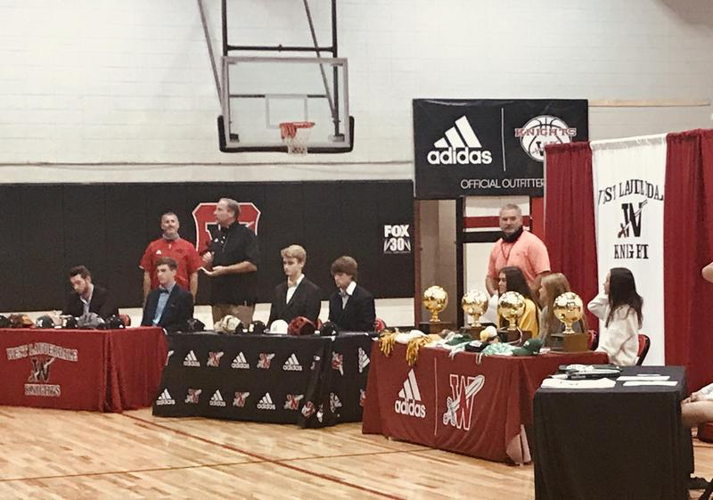Fall Signing Day Photo