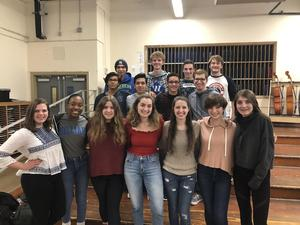 Fifteen Westfield High School student vocalists will perform with the CJMEA Region II Chorus in January.