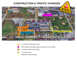 *ATTEN* New Construction Parking and Building Access Changes Featured Photo