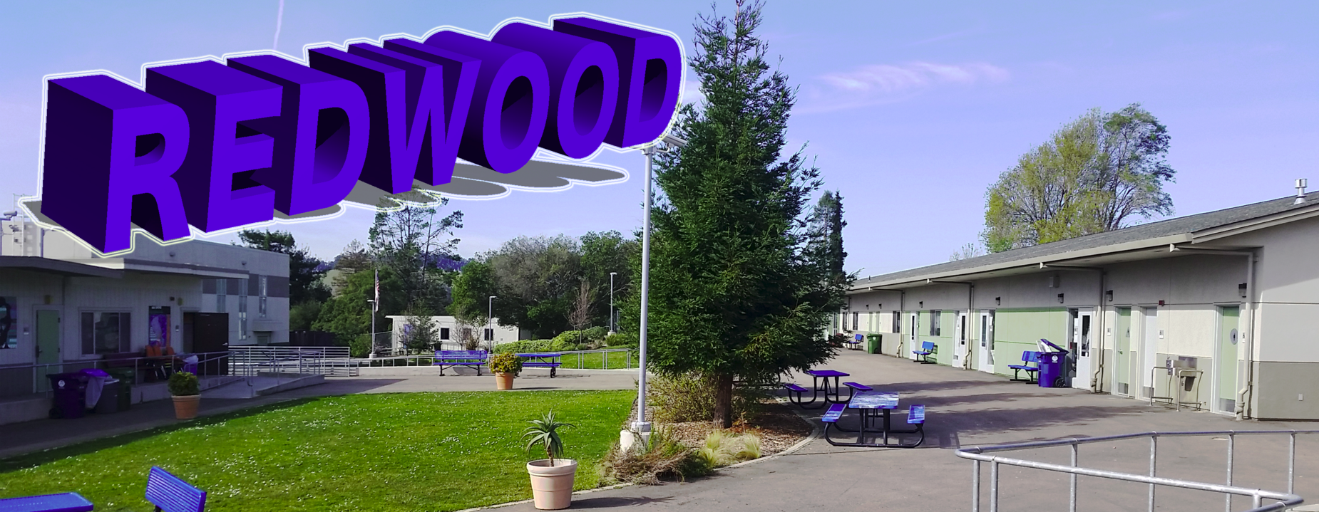 Photo of Redwood High School Campus