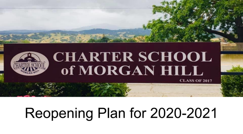 Reopening Plan for 2020-2021