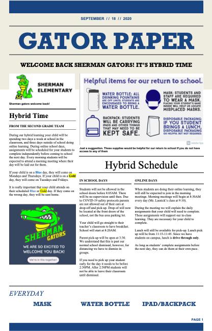 Gator Paper vol.2 (front)