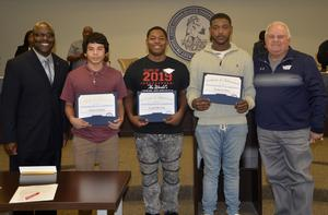 Coaches' All State Football players from  West Orange - Stark