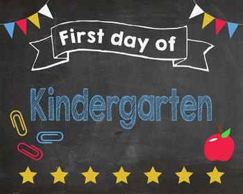 Forest Park First Day of Kindergarten 2018! Wednesday 9/5/2018 Featured Photo