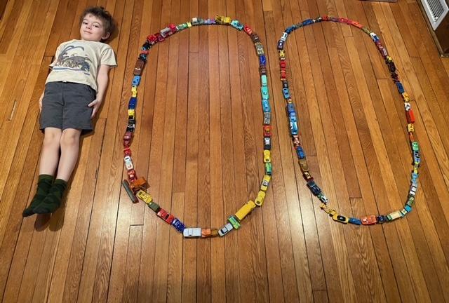Kindergarten celebrating 100 days of school Featured Photo
