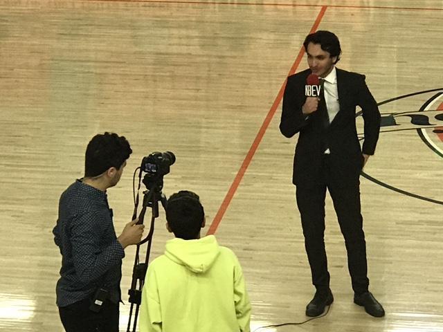 KBEV Field Reporter