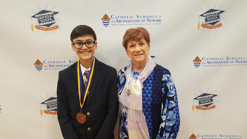 Luke Mosca named Outstanding Catholic School Graduate Thumbnail Image