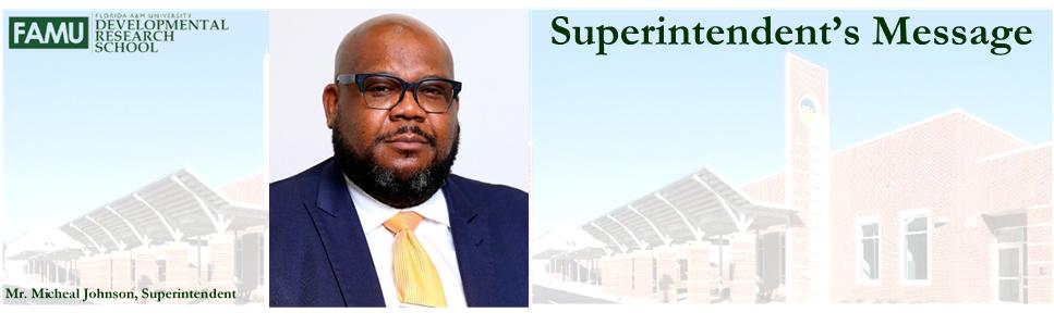 Superintendent's Banner