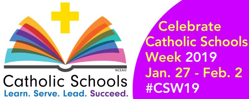 CATHOLIC SCHOOLS WEEK: January 27th - February 1st Featured Photo
