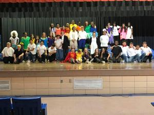 cast of Little Mermaid Jr.