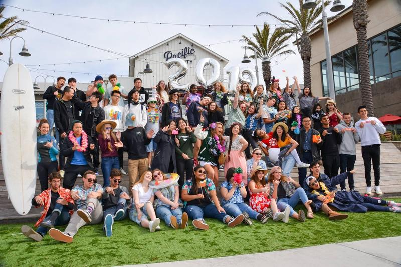 Senior Mob Shot at the Beach! Featured Photo