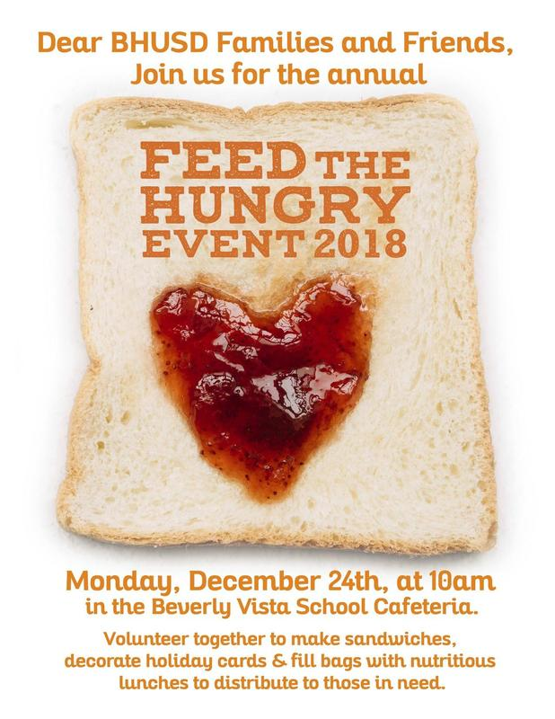 Feed the Hungry Event 2018