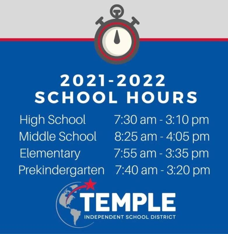 New School Hours this year Featured Photo