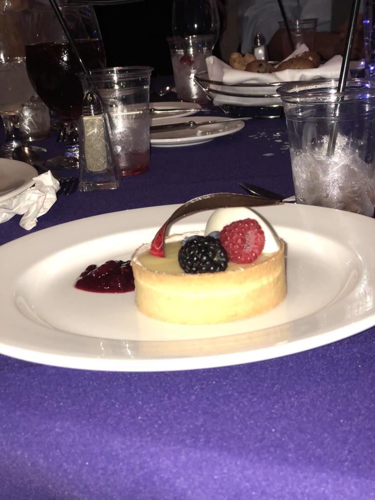 Dessert at prom