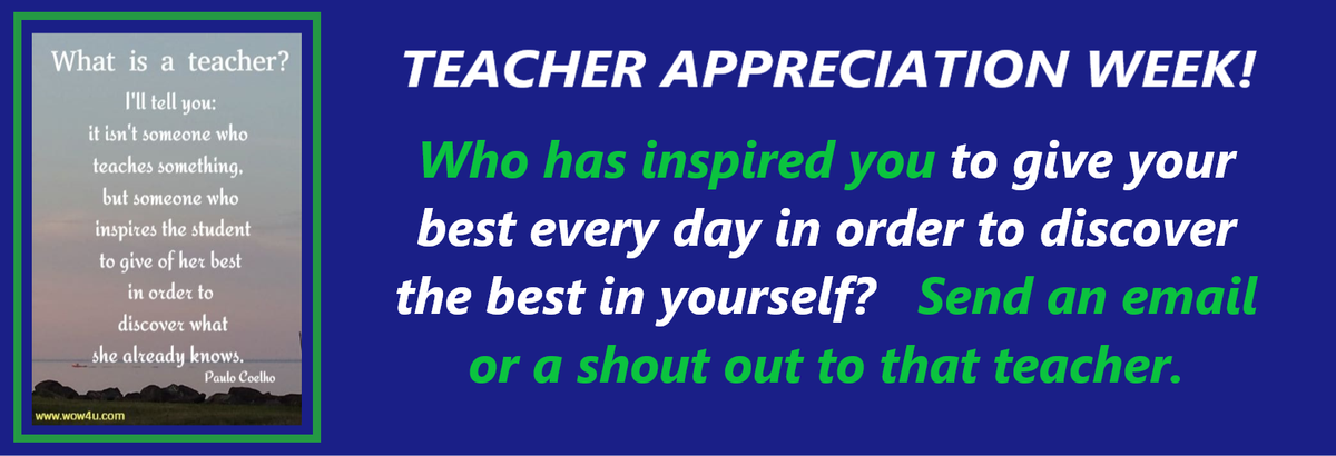 Teacher Appreciation Week - Highland High School 2020