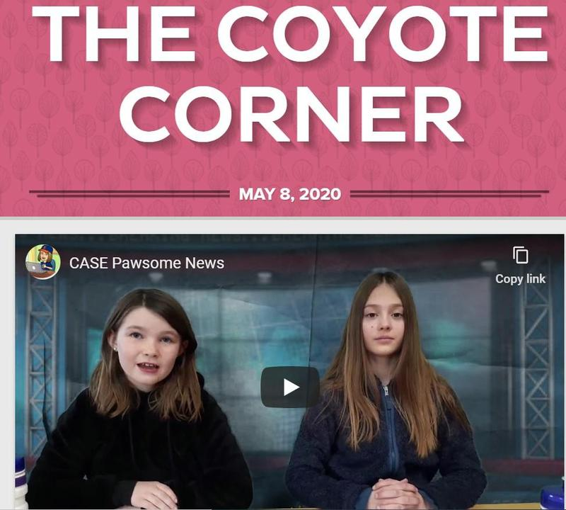 Screenshot of our newsletter with Pawsome News with Jaymee Ward and Trillium Crawford