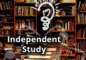 Image that reads Independent Study, no link