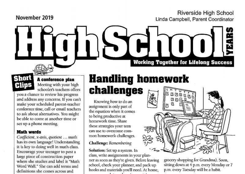 November High School Years Newsletter Featured Photo