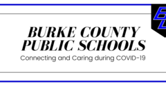 Burke County Public Schools, Connecting and Caring during COVID-19