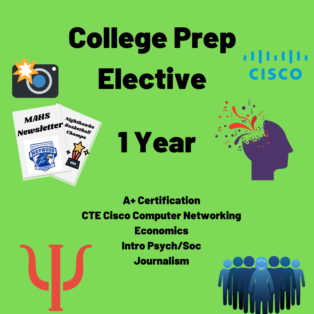 College Prep Elective- 1 Year
