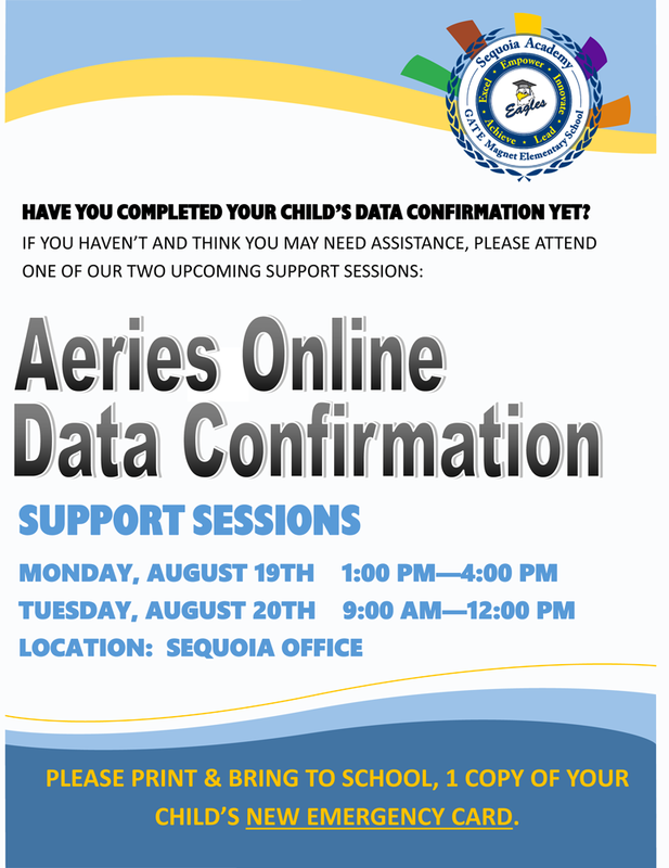 Aries Data Confirmation