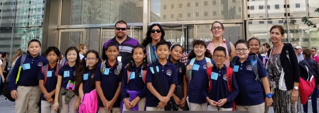 4th grades going to one world trade center observatory
