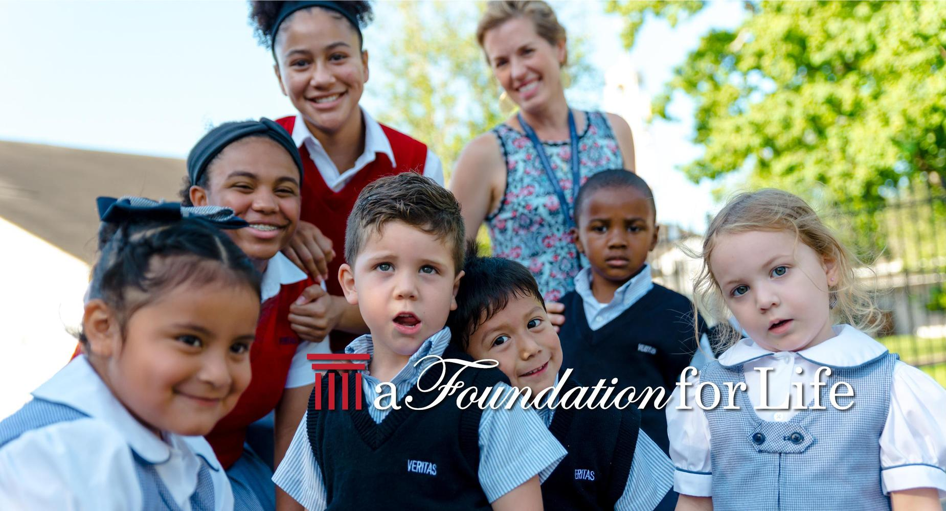 a group of students - a Foundation for Life