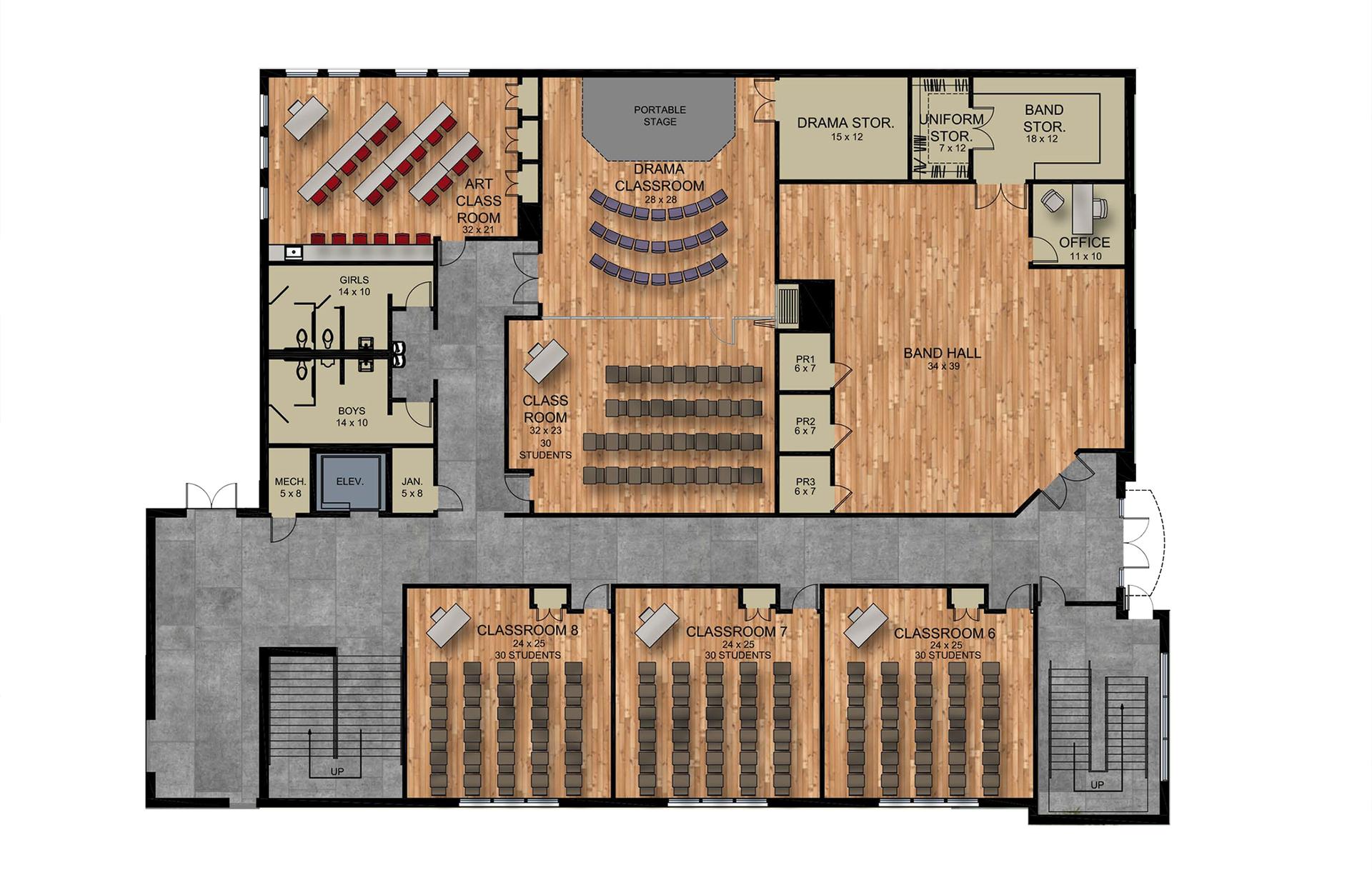 Fine Arts Facility