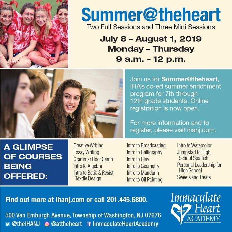 2019 Summer@theheart - Register TODAY! Thumbnail Image