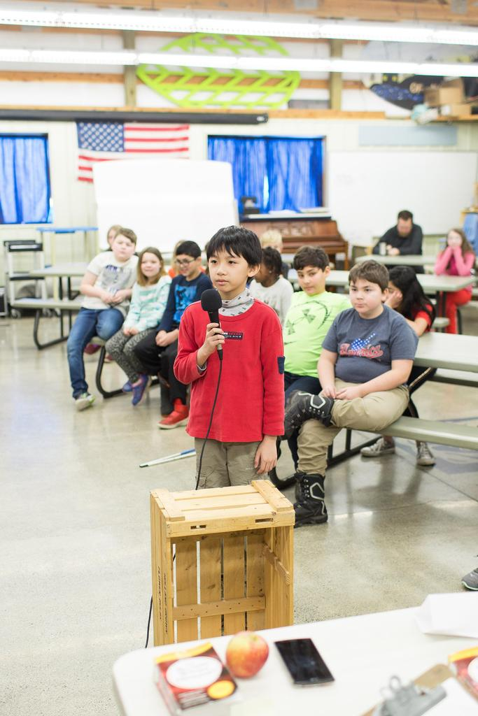 Moscow Charter School Scripps Spelling Bee Round 1 Contestant