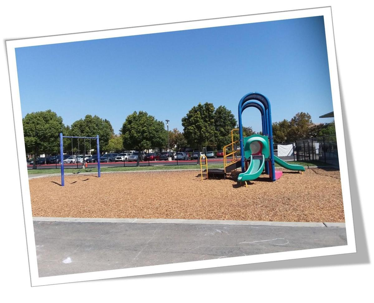 Picture of the preschool playground