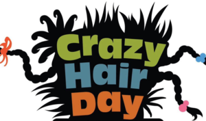 Crazy Hair Day at Franklin Elementary School