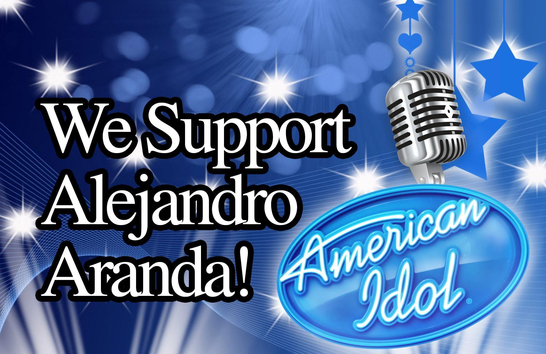 We Support Alejandro Aranda!