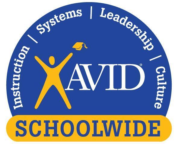 AVID SCHOOLWIDE SITE OF DISTINCTION