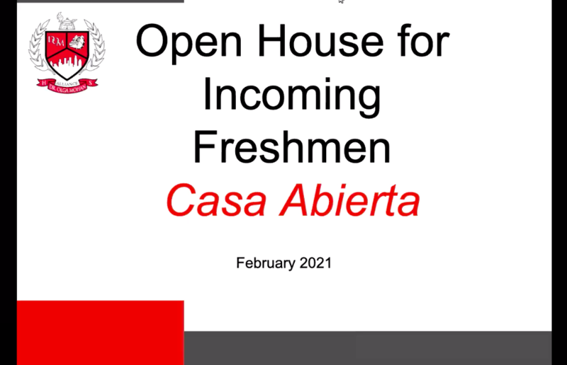 Open House Video - Incoming Freshman Thumbnail Image