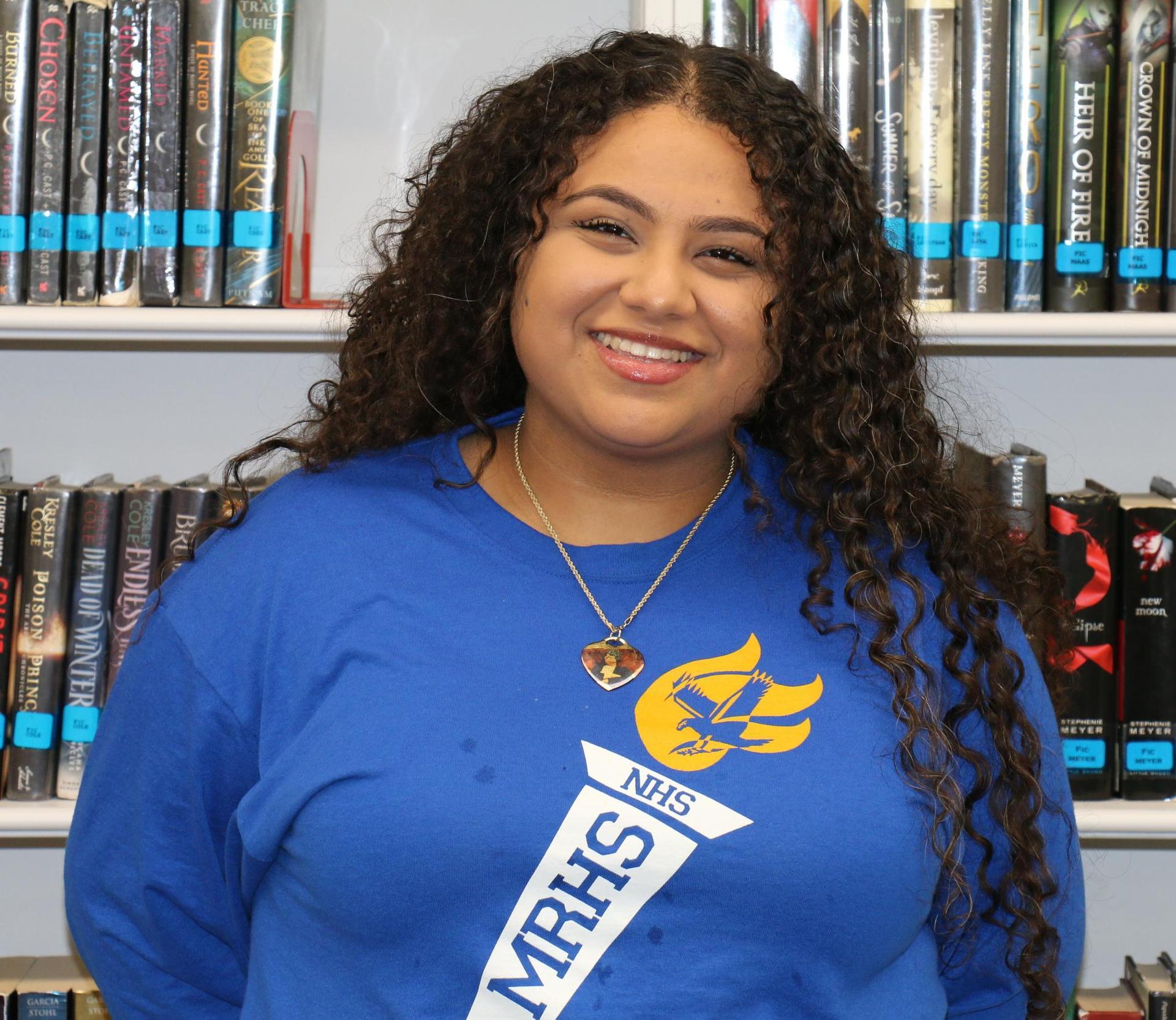 Aya Aljanadi - Student Board Liaison