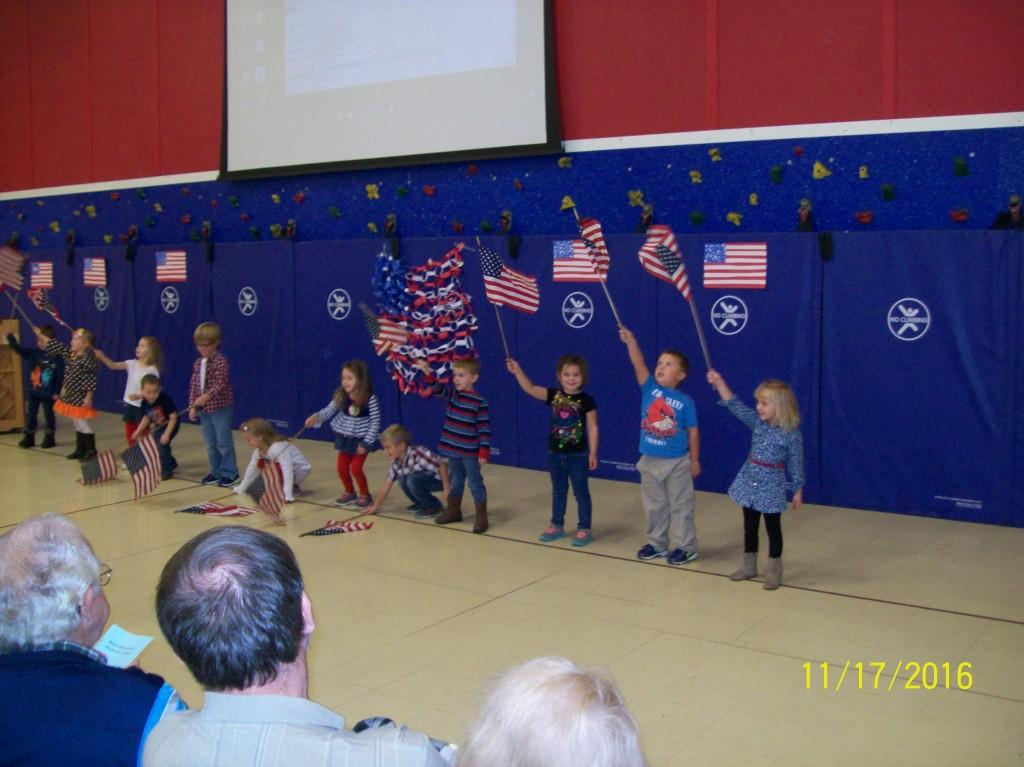 Veterans Day Program - Pre-K