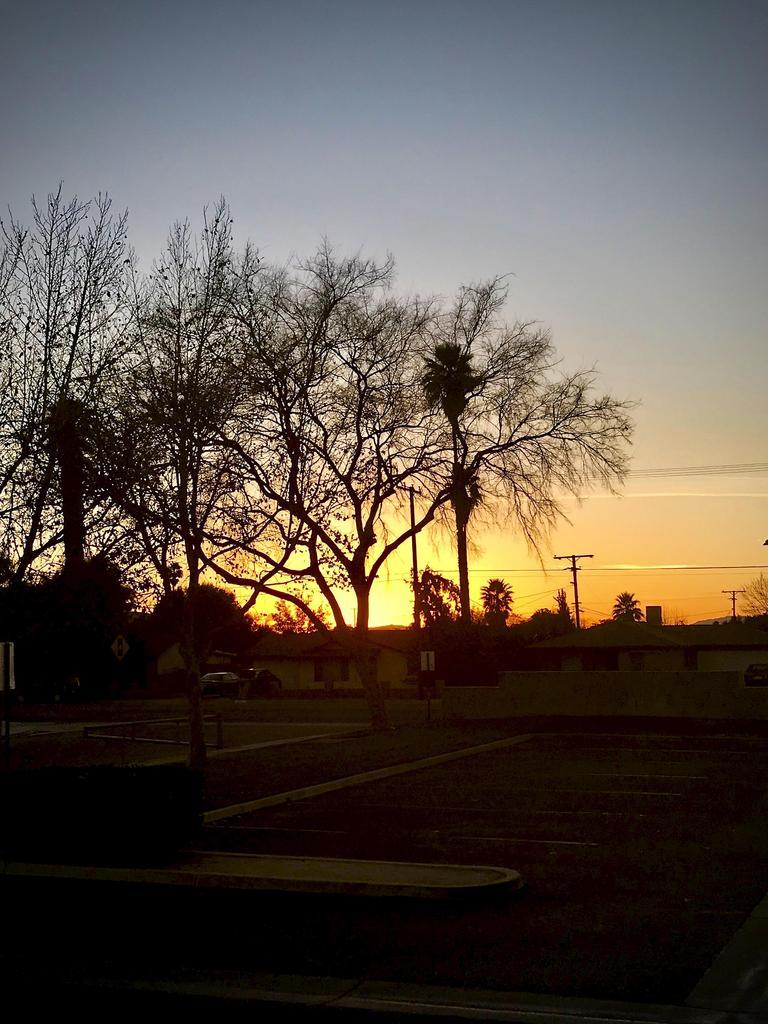 ASPIRE at sunset.