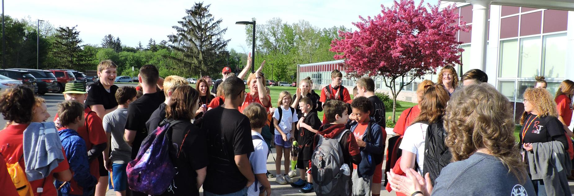 special olympics send off