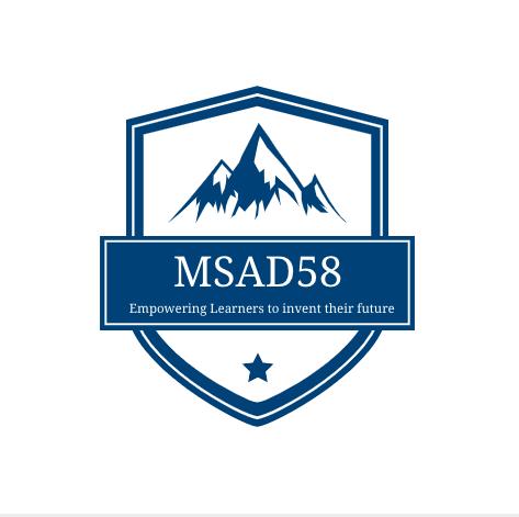 MSAD 58 Logo