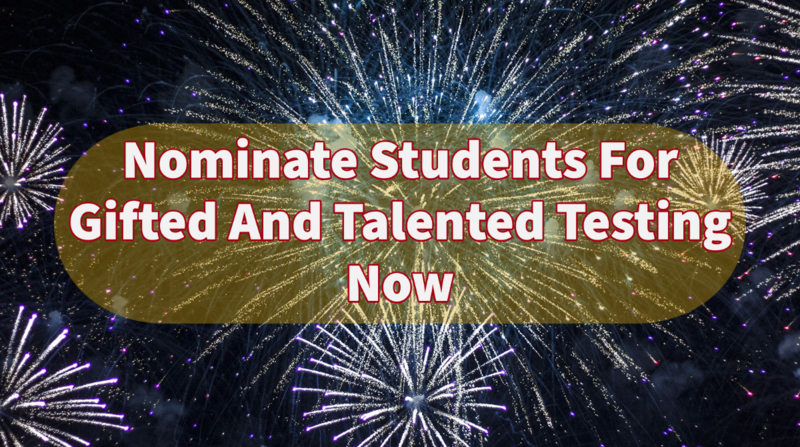 Gifted & Talented Nominations